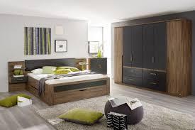 Schlafzimmer Set Poco Bettanlage Bernau Eiche Stirling Nb Grau Metallic 180 Cm U0026 9654