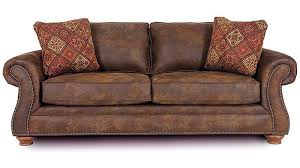 brown leather sleeper sofa queen ansugallery com