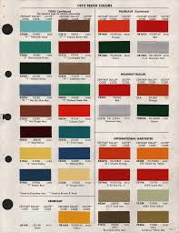 chart dupont imron paint color chart for trucks