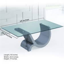 ping pong table cost tempered glass coffee table with chagne glossy mdf base photo on
