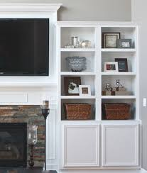 Built In Bookcase Ideas Perhaps We Could Do Something Like This To Our Fireplace Add