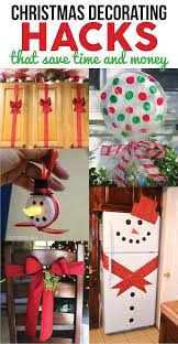 christmas decorating hacks that save time and money easy diy and