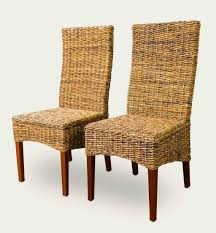 Cushioned Dining Chairs Dining Room Graceful Seagrass Dining Chair Design Ideas