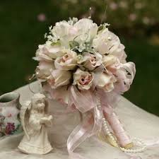 wedding bouquets delicate satin bridal bouquets 124032097 wedding flowers