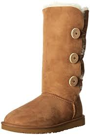 womens ugg triplet boot ugg australia s bailey button triplet shoes warehouse
