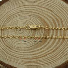 new necklace chain images New gold chain design girls gold filled necklace chain dubai new jpg