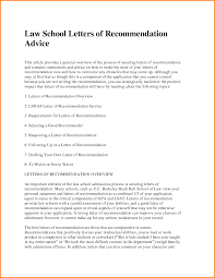 awesome collection of law letter of recommendation request