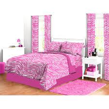 Pink Zebra Comforter Set Full Amazon Com Mi Zone Reagan Comforter Set Pink Full Queen Home