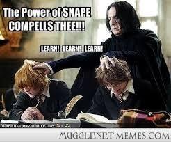 Severus Snape Memes - the marvelous teaching methods of severus snape harry potter