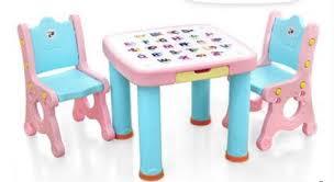 bureau plastique enfant bébé enfant bureau chaises et tables costumes tableau plastique