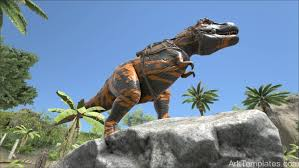 orange tribal t rex ark templates