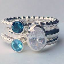 stackable birthstone rings personalized rings ideas collections