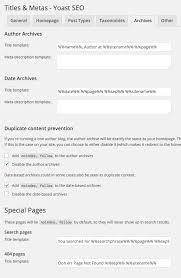 yoast wordpress seo tutorial settings