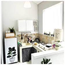 desain dapur lebar 2 meter 15 desain dapur minimalis ukuran 2x2 dan 2x3 meter terbaru