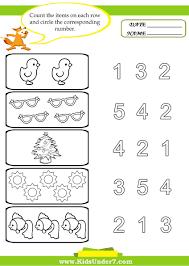 worksheets preschool math for preschoolers writing mreichert kids