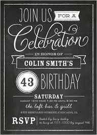 chalkboard birthday invitations kawaiitheo com