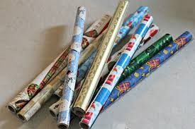 gift wrap paper rolls moving tip use gift wrap to protect breakables organize