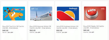 gift cards sale ebay gift card sale toys r us 20 southwest american airlines