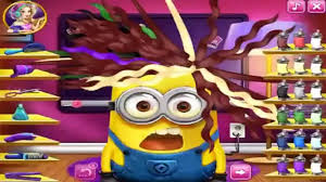 despicable me minion real haircuts funny minion games for kids