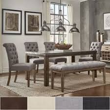 acme wallace dining table weathered blue washed acme furniture wallace weathered gray dining table from hayneedle