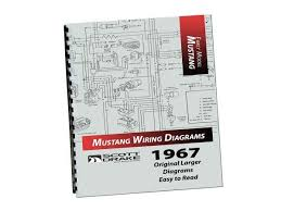 1967 mustang pro wiring diagram manual large format lamustang