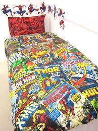 Single Duvet Cover Sets Marvel Heros Bedding Marvel Comics Heroes Single Duvet Cover Set