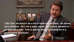 Looking Meme - parks and recreation meme exactly what im looking for on bingememe