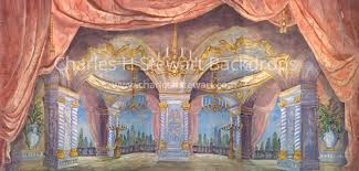 Palace Interior Palace Interior Backdrop Backdrops By Charles H Stewart