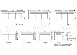 Sectional Sofas Dimensions Standard Sectional Sofa Sizes Ezhandui