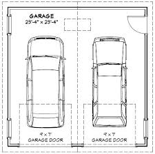 dimensions of a 2 car garage image result for typical garage size 2 car graphic standards