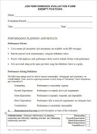 evaluation form employeeselfevaluationform word jpg free employee