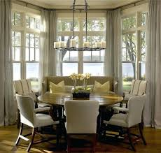 Kitchen Bay Window Curtain Ideas Bay Window Curtain Ideas Home Designwindow Treatments For