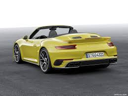porsche 911 2016 2016 porsche 911 turbo s cabriolet rear hd wallpaper 10