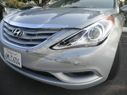 2011 hyundai sonata front bumper auto collision repair car paint in fremont hayward union city