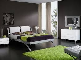 white contemporary bedroom furniture decor very cool white