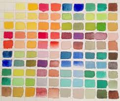color mixing chart skillshare projects