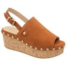 buy ravel ladies u0027 cutler wedge sandals online in tan suede