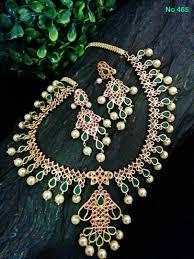 boutique designer jewellery designer bridal neck set 2937 by uma s boutique griiham