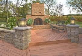 Patio Designs Stone by Patio Designs Stone U0026 Trex Decking Monroe Patios U0026 Hardscapes