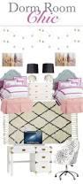 Dorm Room Decor 25 Best Chic Dorm Ideas On Pinterest College Bedding