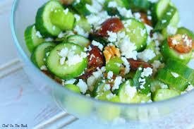 celery salad cucumber celery u0026 feta salad chef on the block