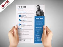 graphic design resume templates graphic designer resume template free psd psdfreebies