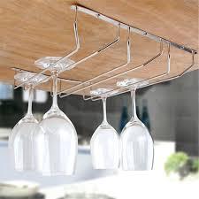 Wine Glass Storage Cabinet by Shelves Under Shelf Stemware Holder Captivating Wall Cabinet