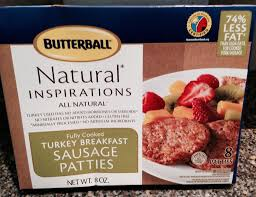 butterball cooked turkey butterball fully cooked turkey sausage patties or sausage links