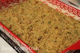 south dish cornbread dressing with gravy