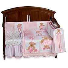 Ballerina Crib Bedding Line Twirling Around Crib Bedding And Accessories Buybuy Baby
