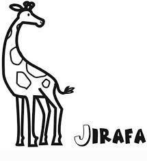 imagenes de jirafas bebes animadas para colorear infantil de jirafa para colorear dibujos de animales para niños