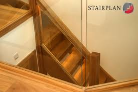 Recessed Handrail Glass Staircase Panels L Groove Recessed Handrails Toughened Glass