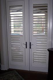 patio ideas sliding glass doors shutters with black color ideas