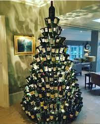 Natural Christmas Tree For Sale - beer bottle christmas tree christmas lights decoration